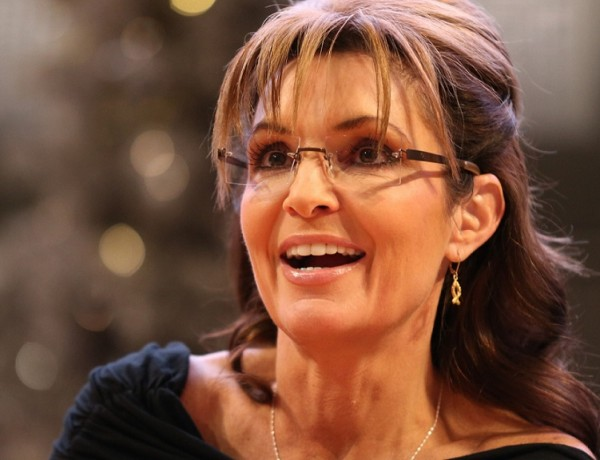 """BLOOMINGTON, MN - NOVEMBER 22:  Sarah Palin signs copies of her new book """"War On Christmas"""" on November 21, 2013 at Mall of America in Bloomington, Minnesota. (Photo by Adam Bettcher/Getty Images)"""