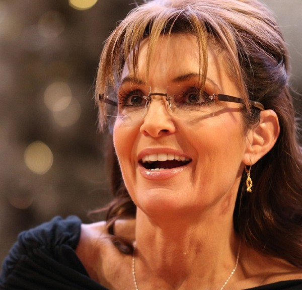 "BLOOMINGTON, MN - NOVEMBER 22:  Sarah Palin signs copies of her new book ""War On Christmas"" on November 21, 2013 at Mall of America in Bloomington, Minnesota. (Photo by Adam Bettcher/Getty Images)"