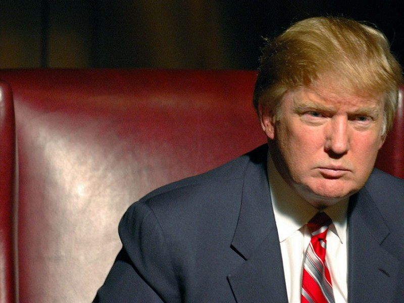 The Apprentice (NBC) Season 3, 2005 Episode: The Writing on the Wall   Airdate: February 24, 2005 Shown: Donald Trump